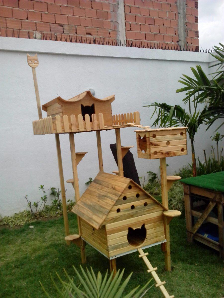 Casa para gatos y parque para gatos bs - Casas para gatos baratas ...