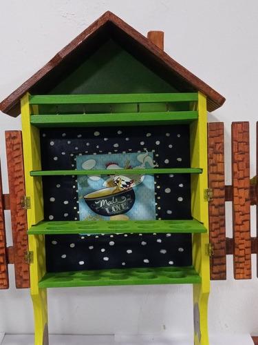 casa para huevos artesanal
