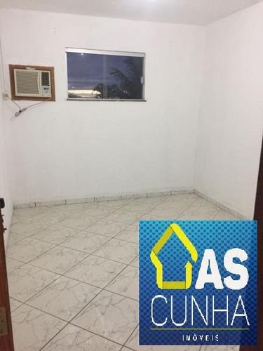 casa para locação em araruama, barbudo, 2 dormitórios, 1 banheiro - 097