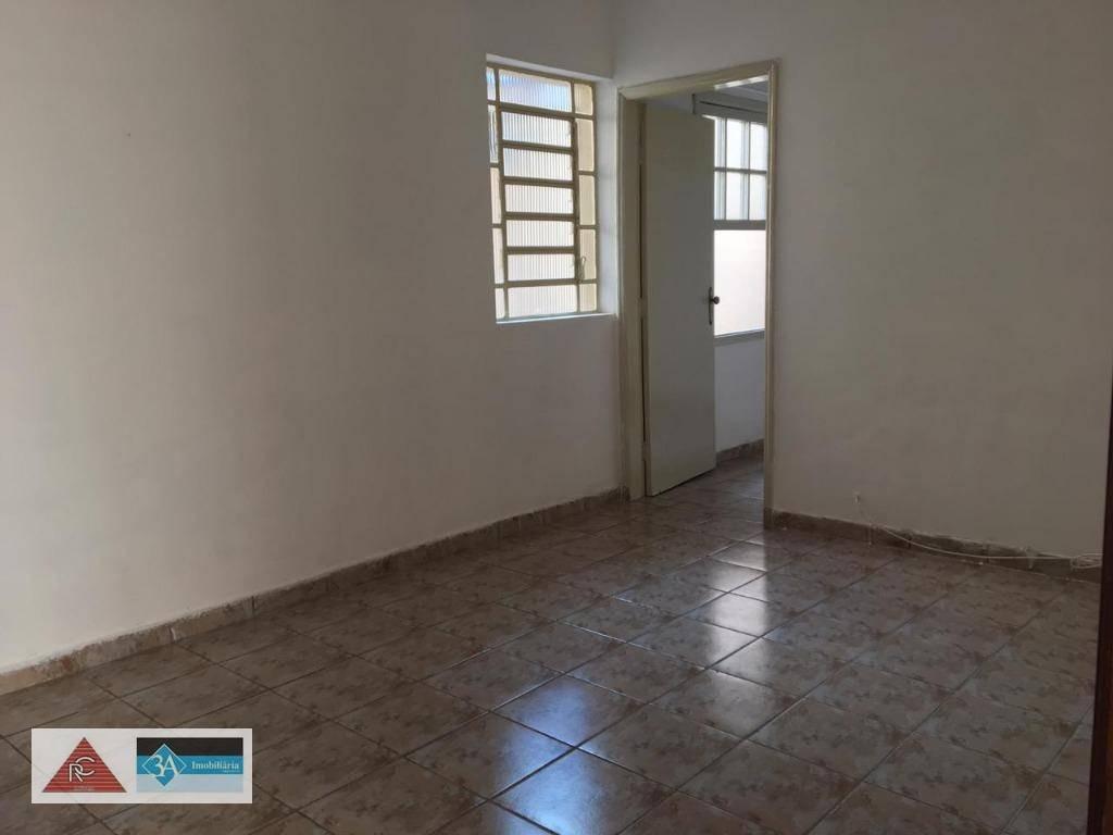 casa para locação em boa localização no tatuapé com 1 dormitório, vaga e quintal - ca0433