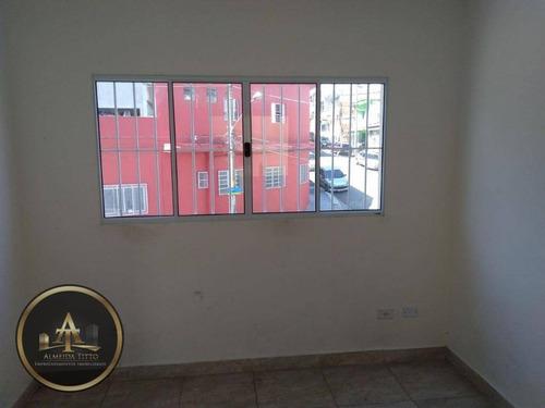 casa para locação, parque dos camargos, barueri. r$ 780,00 - ca0622
