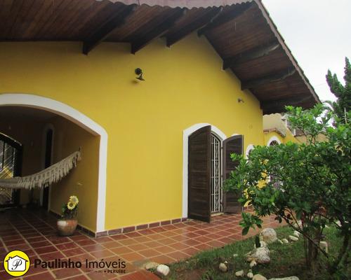 casa para locação temporada na praia de peruíbe - ca03113 - 33641331