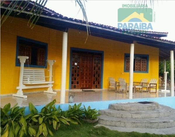 casa para locação temporada -  praia de carapibus - conde - pb - ca0108