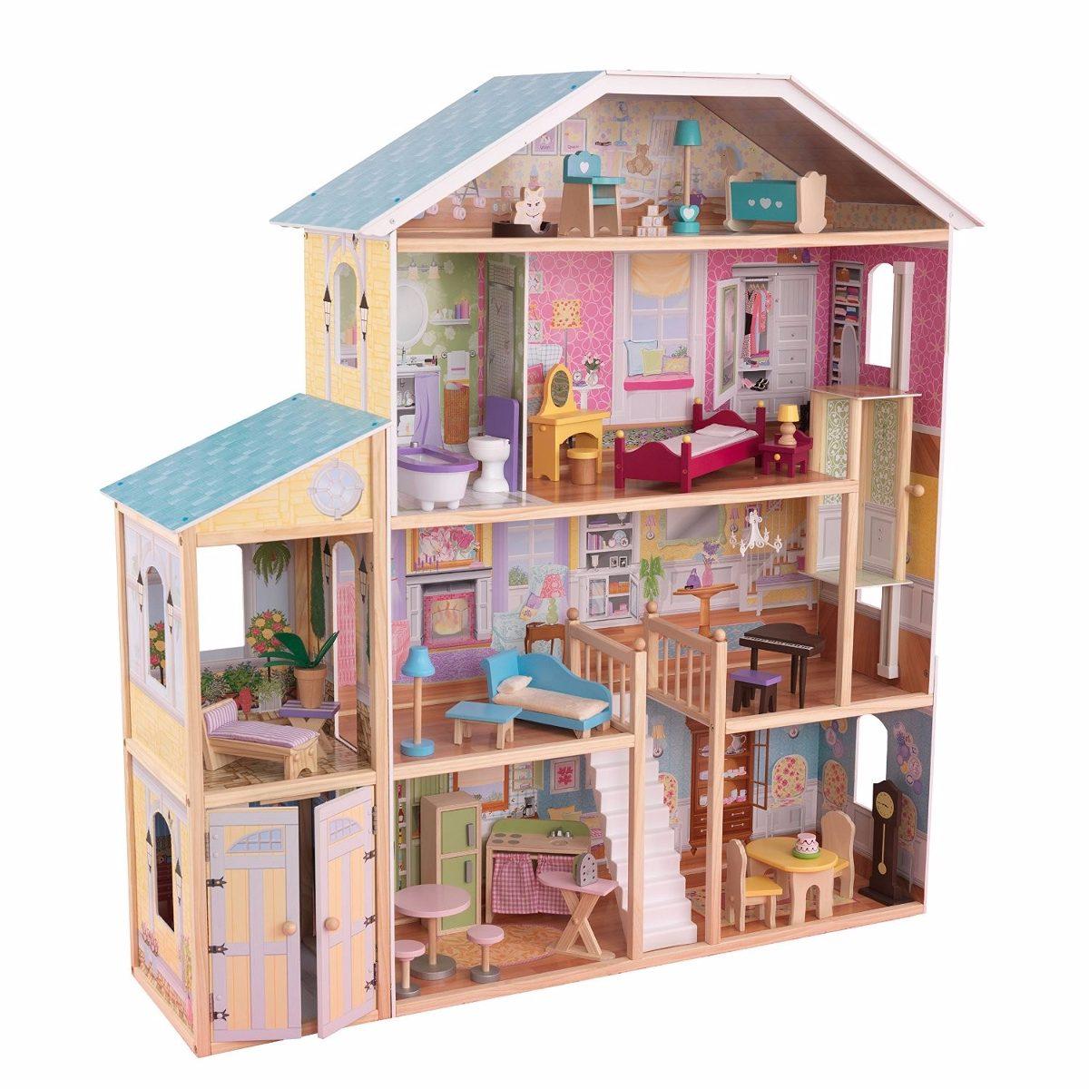 Casa Para Mu Ecas Kidkraft Majestic Mansion Dollhouse  # Muebles Majestic Tijuana