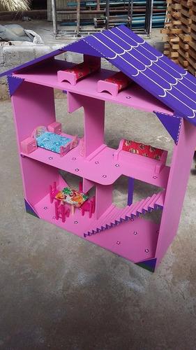 casa para muñecas artesanal/ casa de juguete