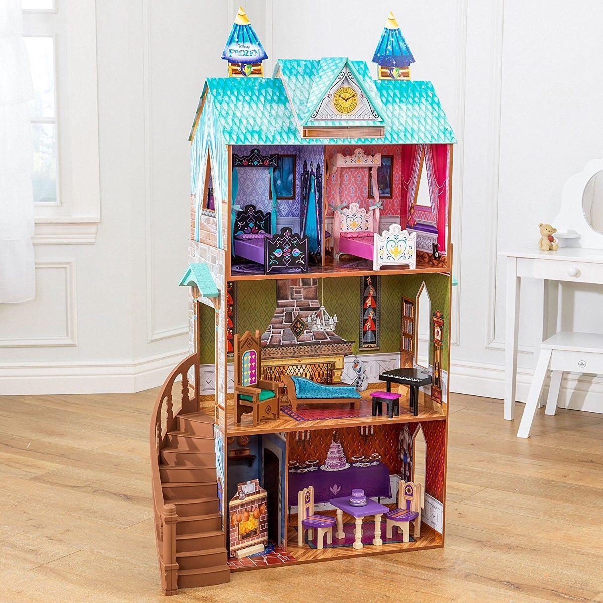 Casa para mu ecas disney frozen casa de juguete para ni as - Casitas de juguete para ninas ...