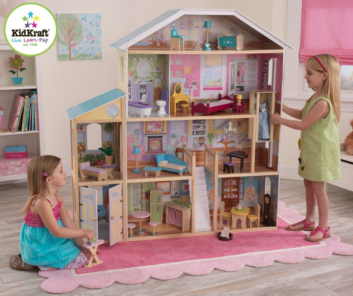 Four The Best Building: Casa Para Muñecas Kidkraft Majestic Mansion Dollhouse