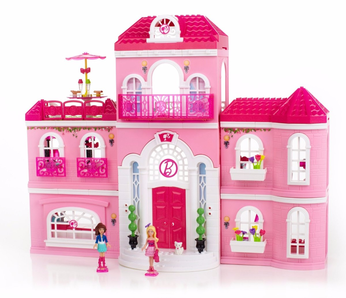 Casa para mu ecas mega bloks barbie luxury mansion - Supercasa de barbie ...