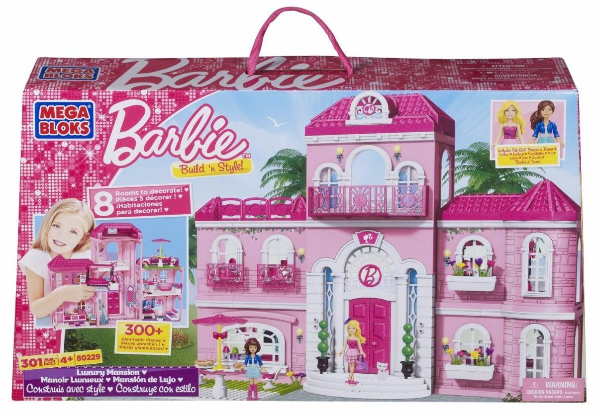Bad Toys For Girls : Casa para muñecas mega bloks barbie luxury mansion