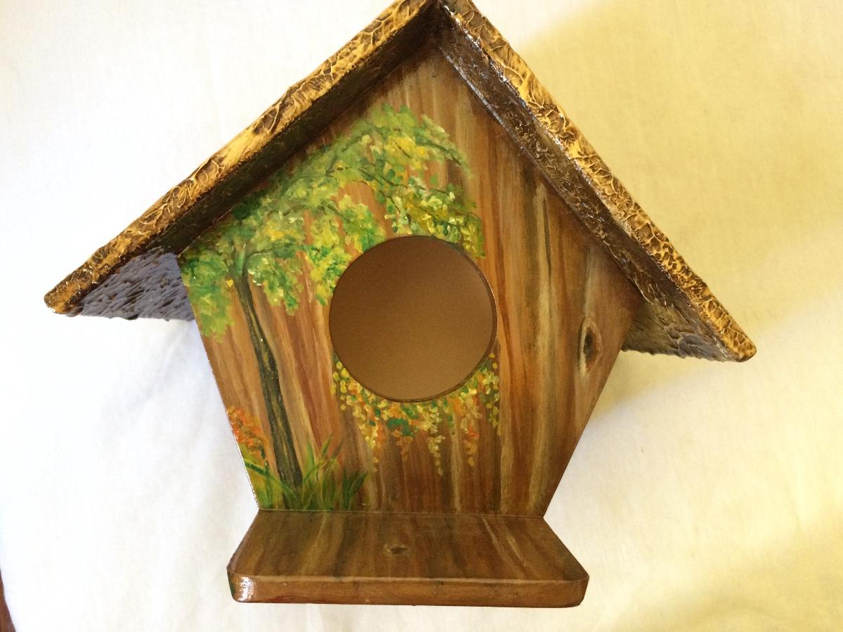 casa para pájaros pintada a mano. Cargando zoom. 029fc07ea47