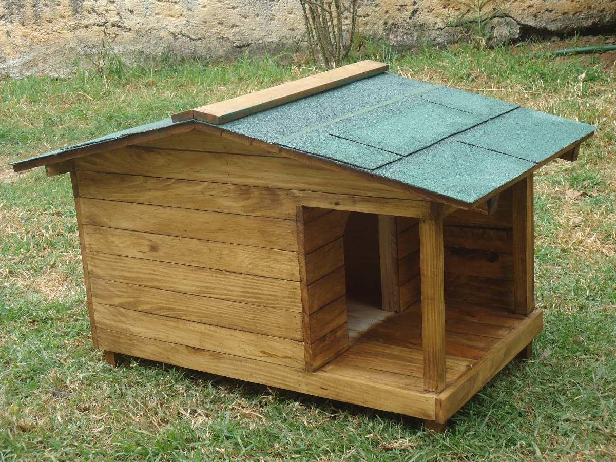 Casa para perro con terraza lateral no 1 1 en for Casetas para patios