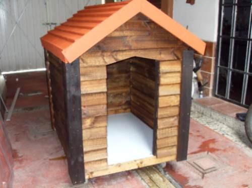 Casa para perro de madera extra grande 2 en - Como hacer una casa para perro grande ...