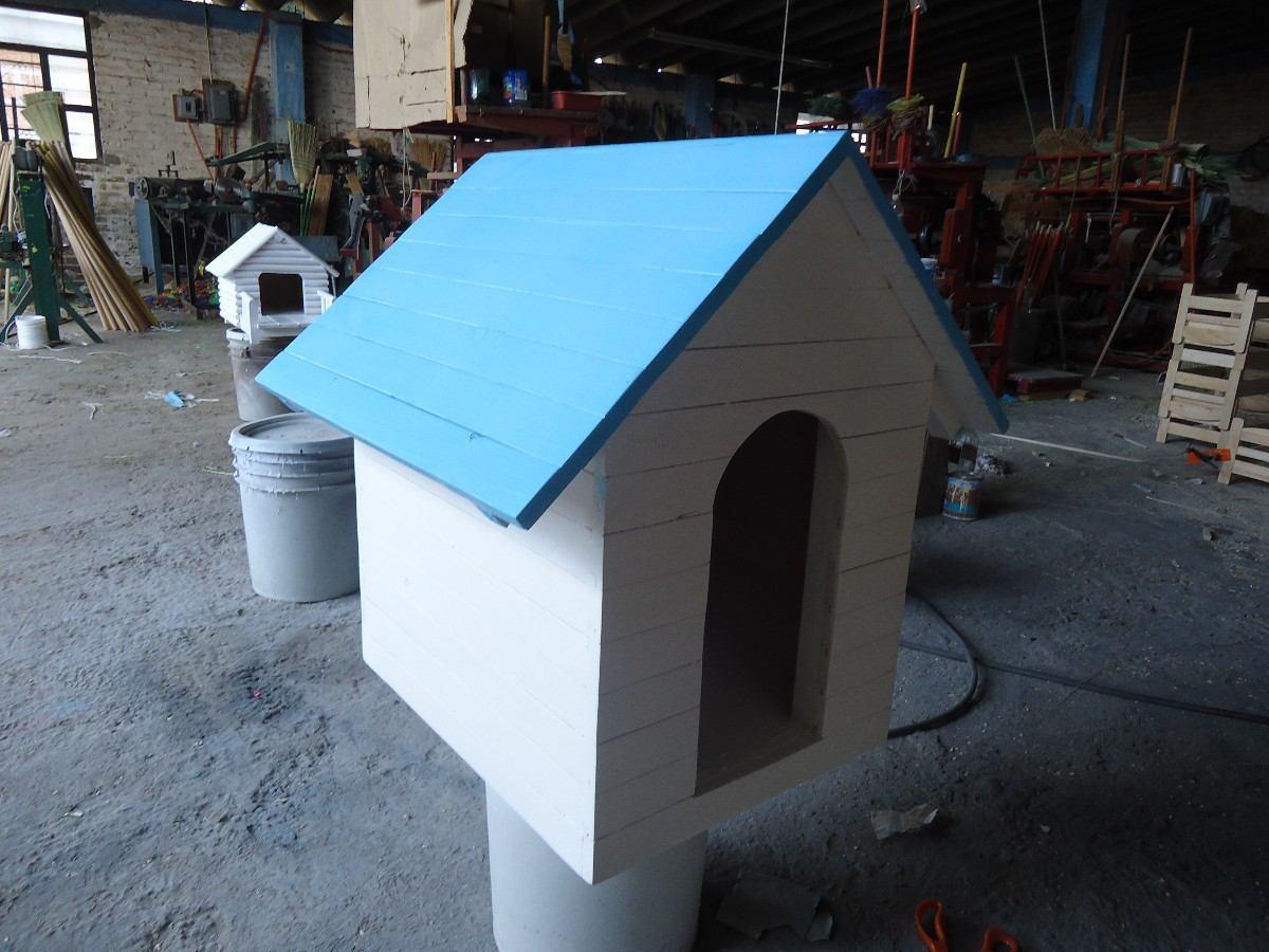 Casa Para Perro De Madera Snoopy Numero 1 Techo Sencillo 800 00