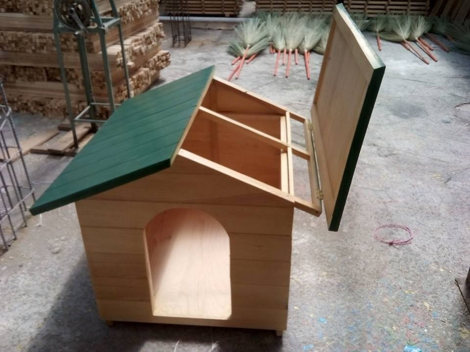 Casa perros madera dise os arquitect nicos for Construir casa de perro