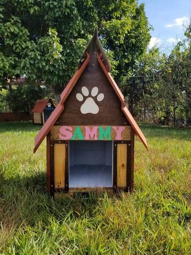 casa para perro estilo rustico / modelo estandar