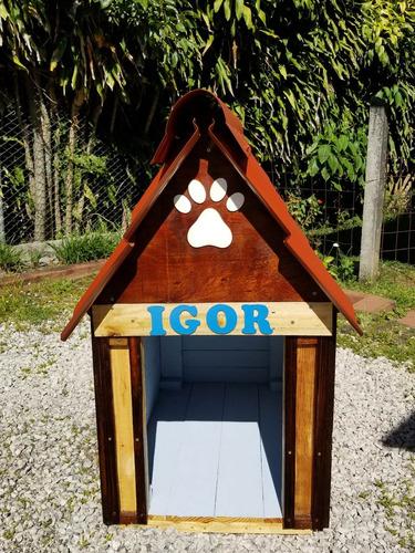 casa para perro estilo rustico (modelo grande)