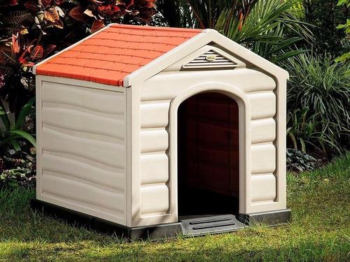casa para perros grandes (90x90x89 cm)