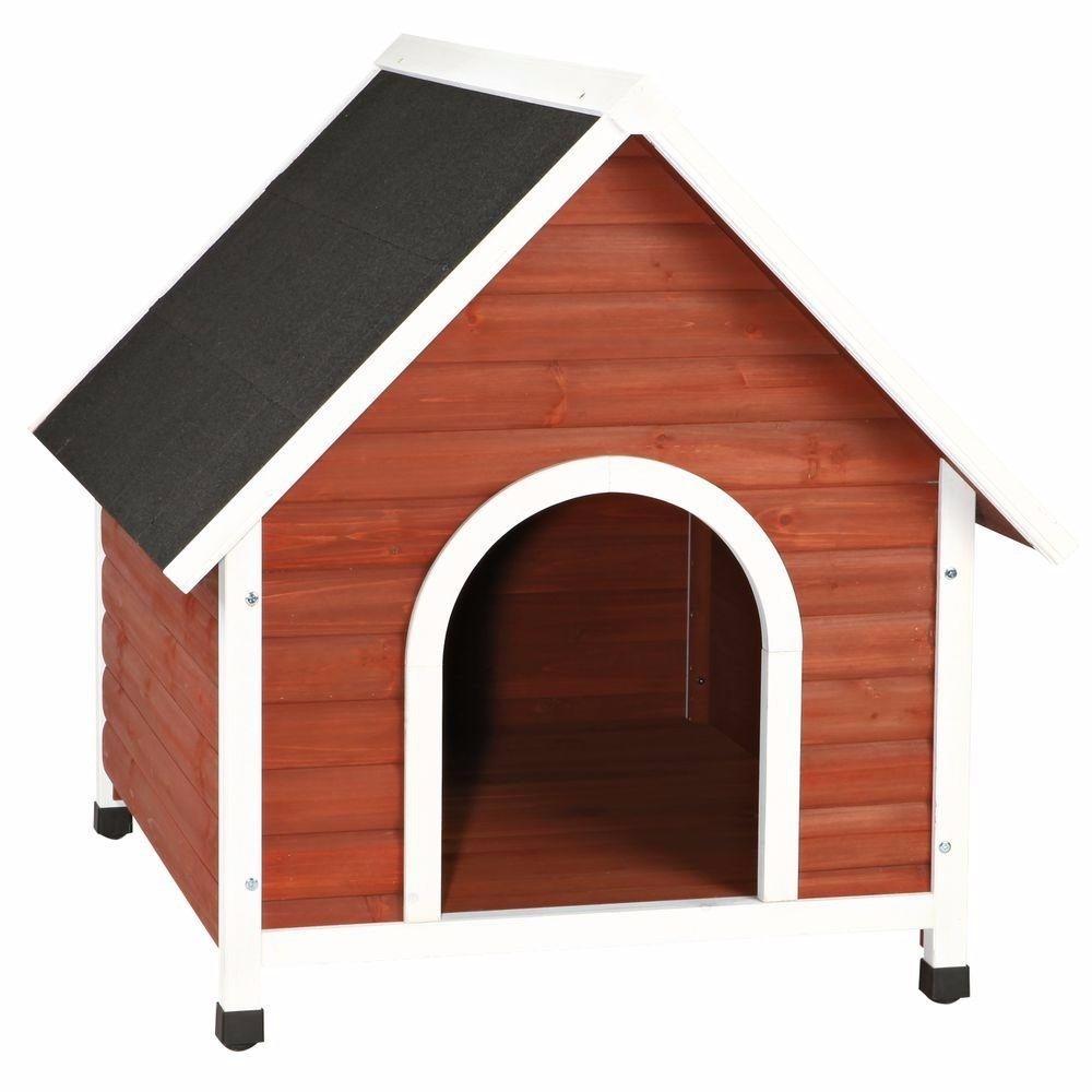 casa para perros medianos y grandes de madera 235000