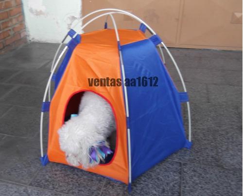 casa para perros tipo carpa accesorio de perros y mascotas
