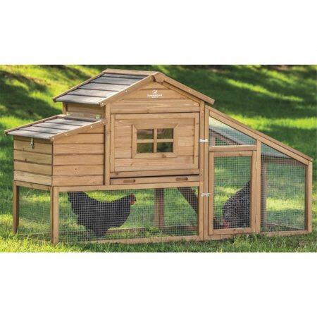 Casa para pollos gallinas conejos delux madera coop 5 en mercado libre - Casas para gallinas ...