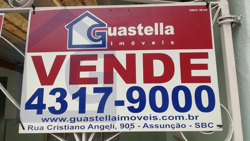 casa para venda, 2 dormitórios, assunção - são bernardo do campo - 2786