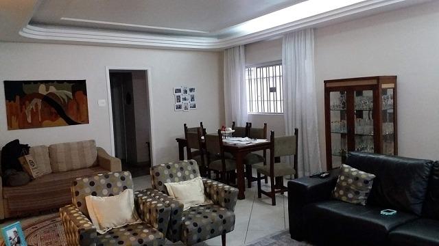 casa para venda, 3 dormitórios, aparecida - santos - 4766