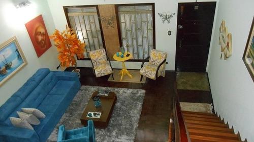 casa para venda, 3 dormitórios, centro - são bernardo do campo - 8757