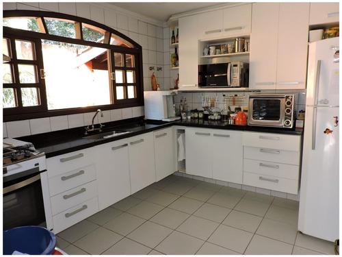 casa para venda, 3 dormitórios, granja viana - cotia - 806