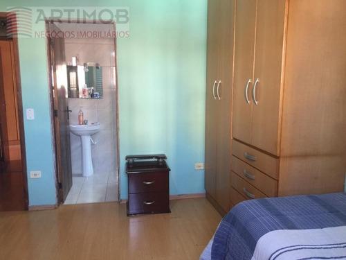 casa para venda, 3 dormitórios, jardim taboão - são paulo - 2841