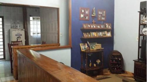 casa para venda, 3 dormitórios, pedrinha - guaratinguetá - 691