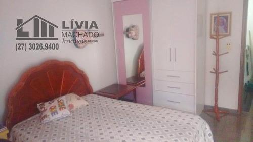 casa para venda, 3 dormitórios, praia do morro - guarapari - 2097