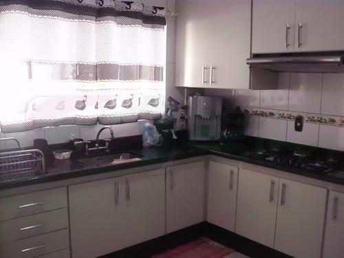 casa para venda, 3 dormitórios, vila alto de santo andré - santo andré - 2282