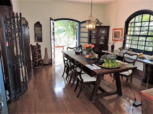 casa para venda, 4 dormitórios, granja viana - km 23 - cotia - 1261