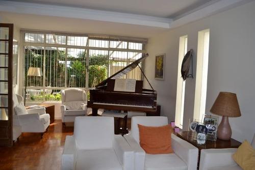 casa para venda, 4 dormitórios, pacaembu - são paulo - 3375