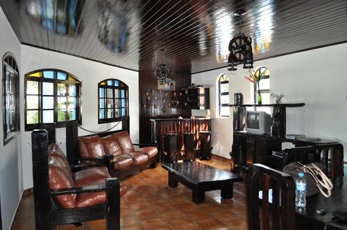 casa para venda, 4 dormitórios, perequê mirim - ubatuba - 573