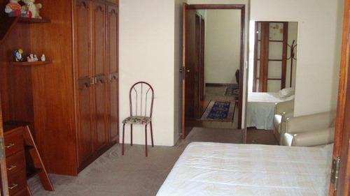 casa para venda, 4 dormitórios, residencial alberto byington - guaratinguetá - 1252