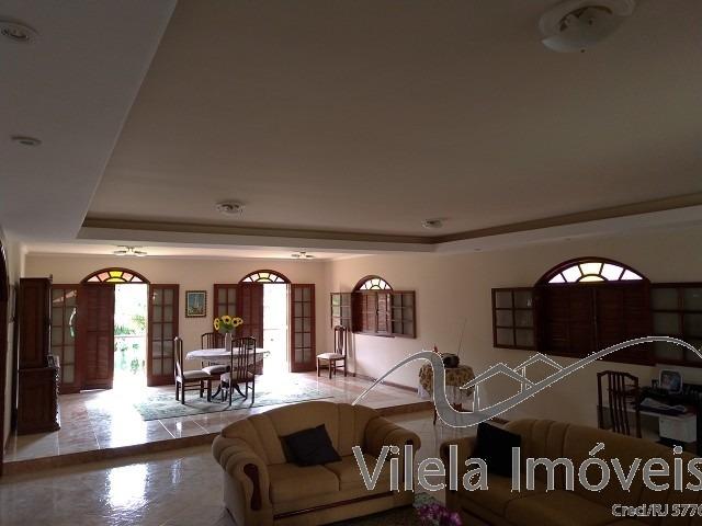 casa para venda, 4 dormitórios, village são roque - miguel pereira - 895