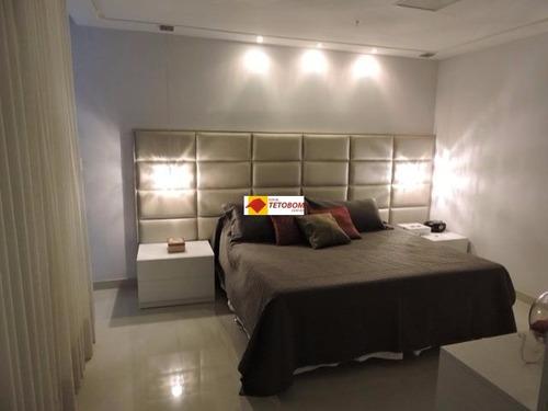 casa para venda alphavilhe ii, salvador 4 dormitórios sendo 4 suítes, 2 salas, 6 banheiros, 2 vagas 440,00 útil, 440,00 total   preço: r$2.100.000 - tjn325 - 3232116