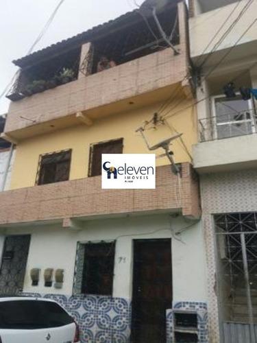 casa para venda caixa d´água, salvador r$300.000 com: 2/4, 1 sala, 1 banheiro, 1 vaga e 100 m² - tjn1016 - 4582114