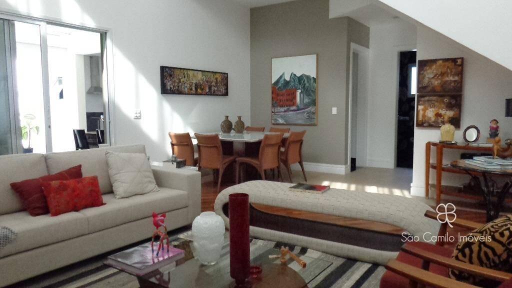 casa para venda com 4 dormitórios à venda, 422 m² por r$ 1.800.00,00 - nova higienópolis - granja viana - jandira/sp - ca1468