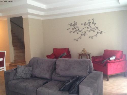 casa para venda condomínio residencial vila das flores vila mogilar mogi das cruzes - ca00618 - 2366437