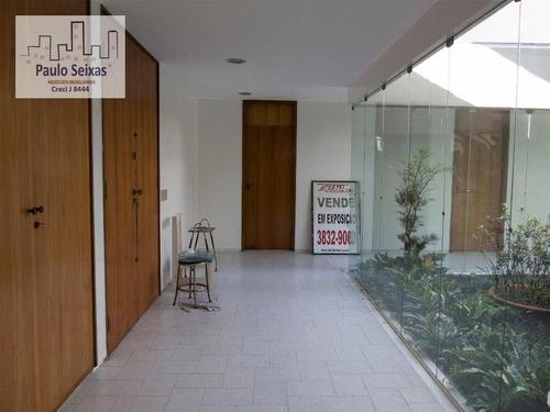 casa para venda e locação, alto da lapa, são paulo. - ca0001