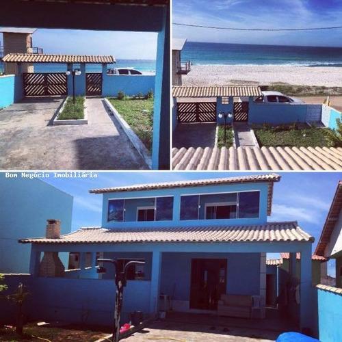 casa para venda em arraial do cabo, 3 dormitórios, 2 suítes, 2 banheiros - 238