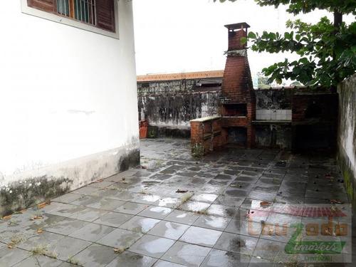 casa para venda em peruíbe, centro, 3 dormitórios, 1 suíte, 1 banheiro, 4 vagas - 2458