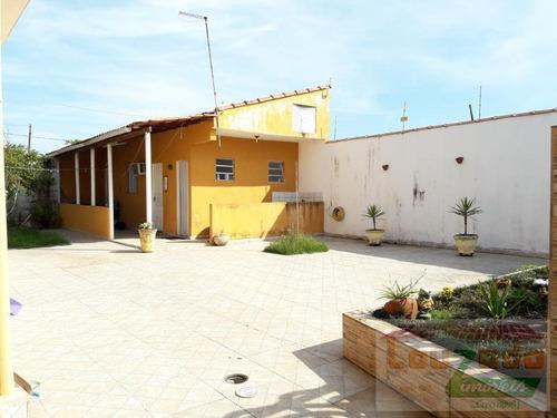 casa para venda em peruíbe, jardim caraguava, 3 dormitórios, 1 banheiro, 10 vagas - 1534