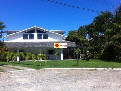 casa para venda estrada do coco, lauro de freitas 5 dormitórios sendo 3 suítes, 3 salas, 4 banheiros, 4 vagas - tjn007 - 3211745