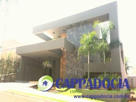 casa para venda golden park, mirassol 3 dormitórios sendo 3 suítes, 2 salas, 5 banheiros, 3 vagas 245,00 construída - cs01761 - 4922386