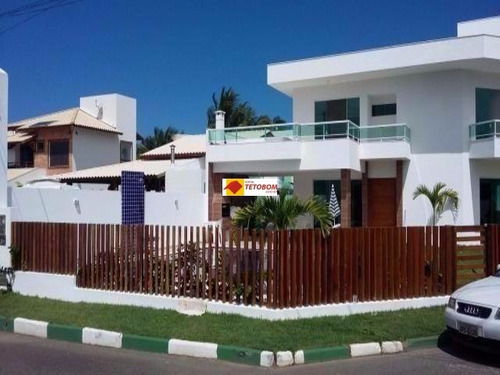 casa para venda guarajuba, camaçari 5 dormitórios sendo 4 suítes, 2 salas, 6 banheiros, 2 vagas 330,00 construída, 330,00 total - tjl520 - 3309637