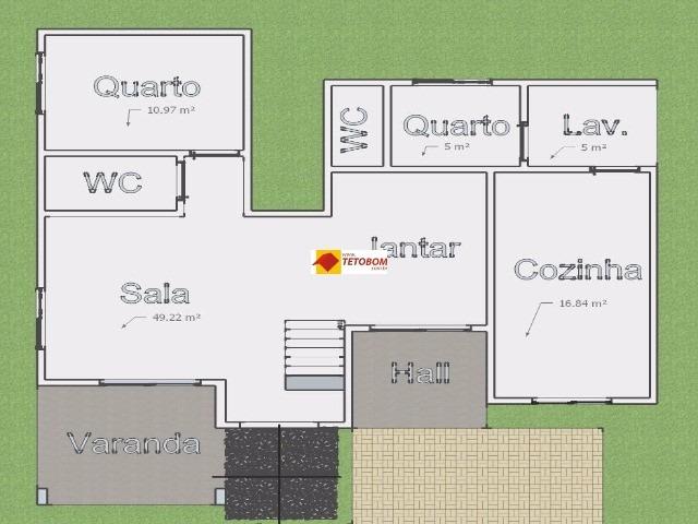 casa para venda miragem, lauro de freitas 4 dormitórios sendo 3 suítes, - tjl499 - 3309244
