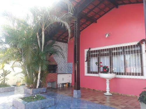 casa para venda na praia de itanhaém - linda aceita financia